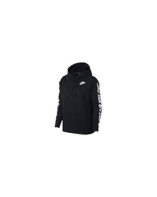 Nike | Женские Чёрные Худи Sportswear Advance 15