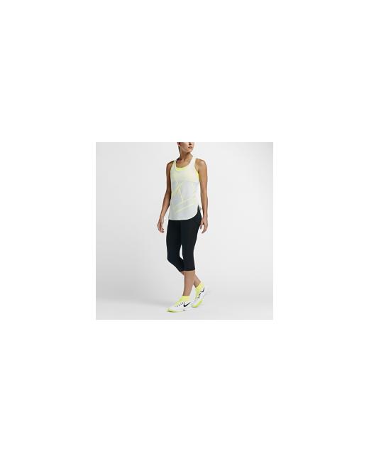 Nike | Женские Чёрные Теннисные Капри Nikecourt