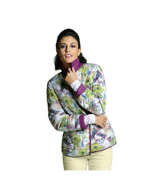 ALBA MODA GREEN   Женская Двусторонняя Стёганая Куртка