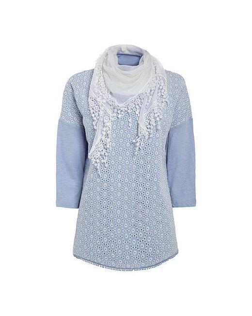Next | Женский Комплект Рубашка С Шарфом