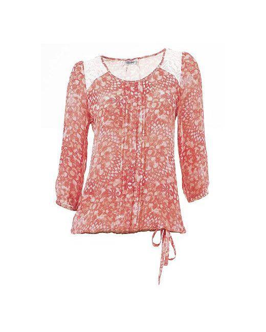 Linea Tesini | Женская Блуза С Принтом