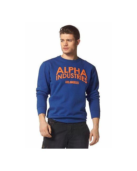 Alpha Industries | Мужская Футболка С Длинными Рукавами