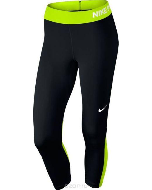 Nike | Женское Чёрное Капри Для Фитнеса W Np Cpri Цвет