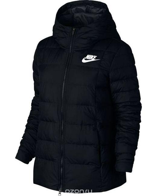 88389d73 Женская Чёрная Куртка W Nsw Dwn Fill Jkt Hd Цвет . Nike 142725786