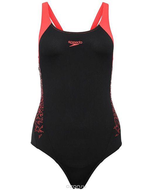 7e27c17e66d2d Speedo - Женский Красный Купальник Слитный Boom Splice Muscleback Цвет  8-10821b346-B346.