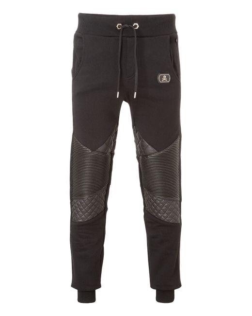 Philipp Plein | Чёрный Jogging Pants Never Let It Go