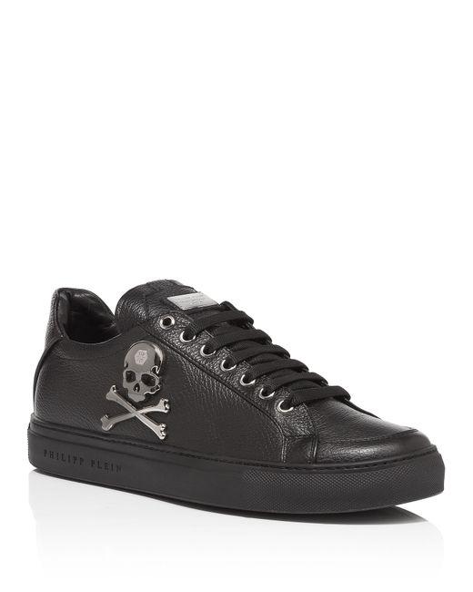 Philipp Plein | Чёрный Low Sneakers Ranger
