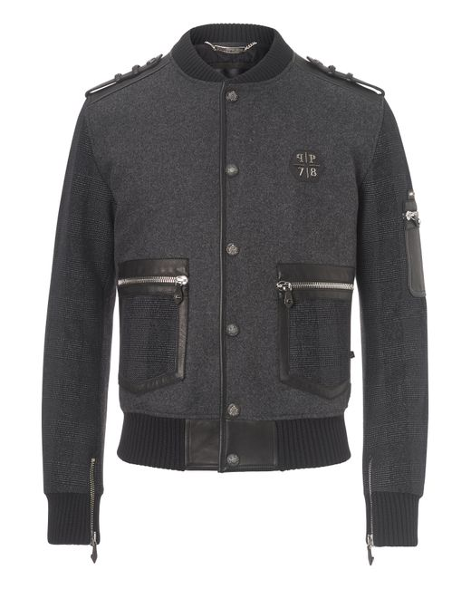 Philipp Plein | Чёрный Jacket Artemis
