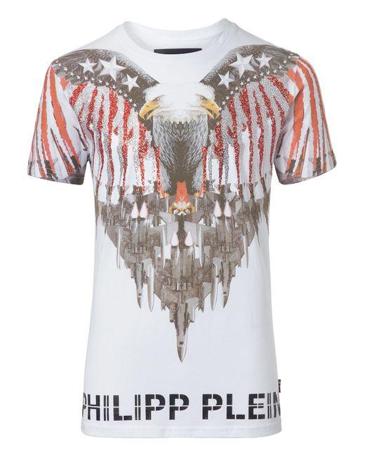 Philipp Plein | Белый T-Shirt Davie