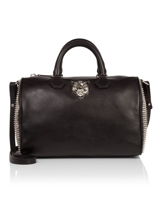 Philipp Plein | Чёрный Travel Bag Consciousness