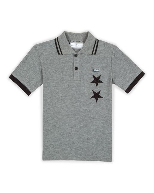 Philipp Plein | Серый Polo Dollar Is All I Need