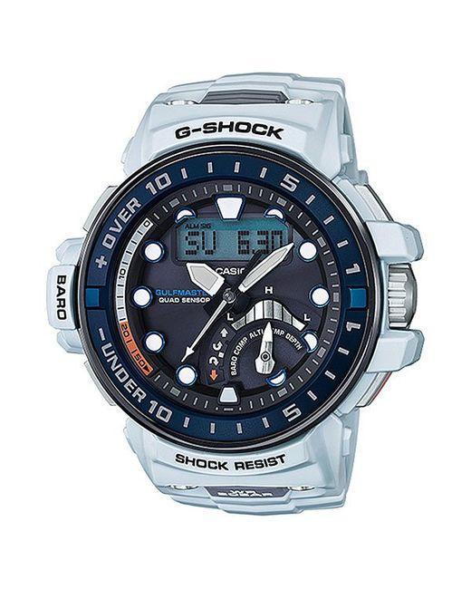 Casio   Мужские Синие Электронные Часы G-Shock Premium Gwn-Q1000-7a