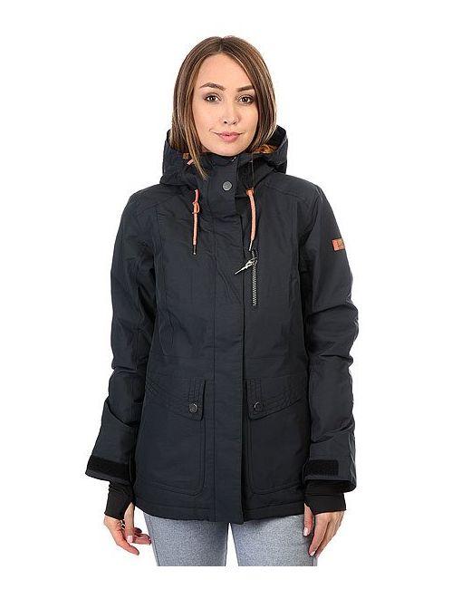 Roxy | Женская Чёрная Куртка Andie True