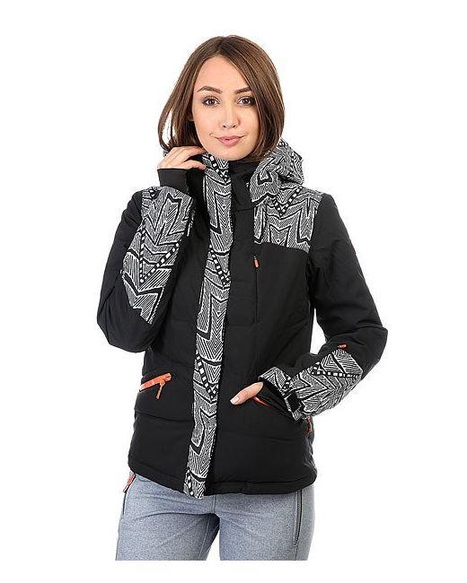 Roxy | Женская Чёрная Куртка Flicker Mauritius Daze Egret