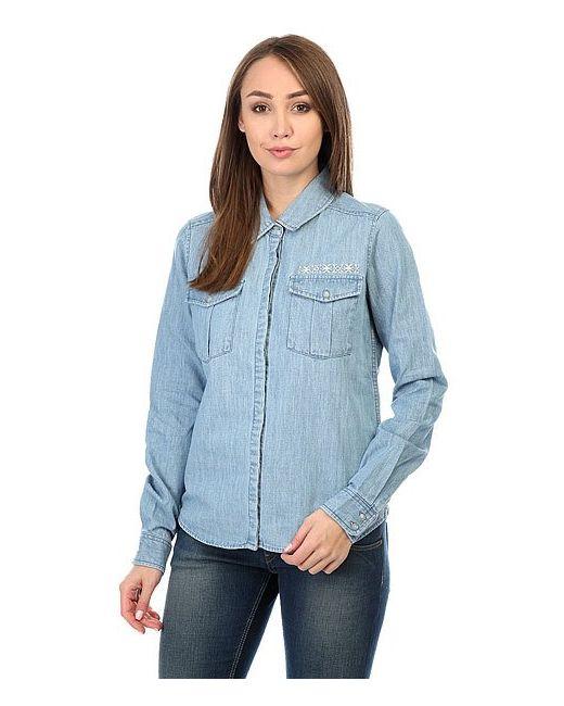 Roxy | Женская Синяя Рубашка Save Light