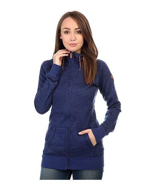 Roxy | Женская Синяя Толстовка Классическая Resin Knit Print