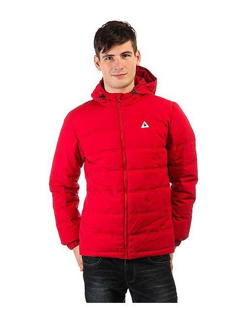 Le Coq Sportif | Мужская Красная Куртка Зимняя Bavone Original Rouge