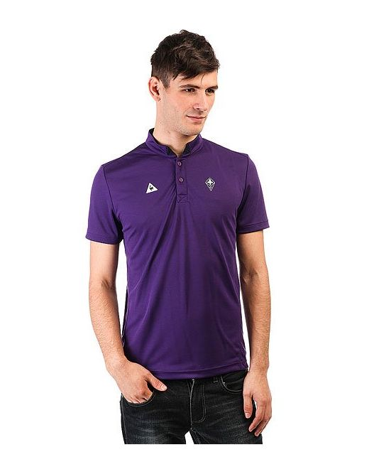 Le Coq Sportif   Мужское Фиолетовое Поло Fiorentina Tenue Presentation Violet