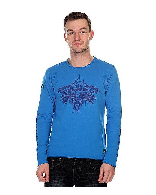 A-One   Мужской Синий Лонгслив Culture Blue