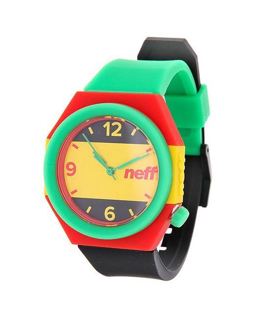 Neff | Мужские Жёлтые Часы Stripe Rasta