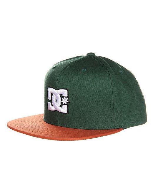 Dcshoes   Мужская Бейсболка Dc Snappy Hats Kombu Green