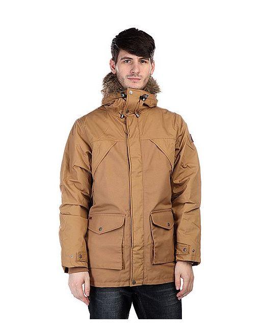 Element | Мужская Коричневая Куртка Парка Fargo Camel