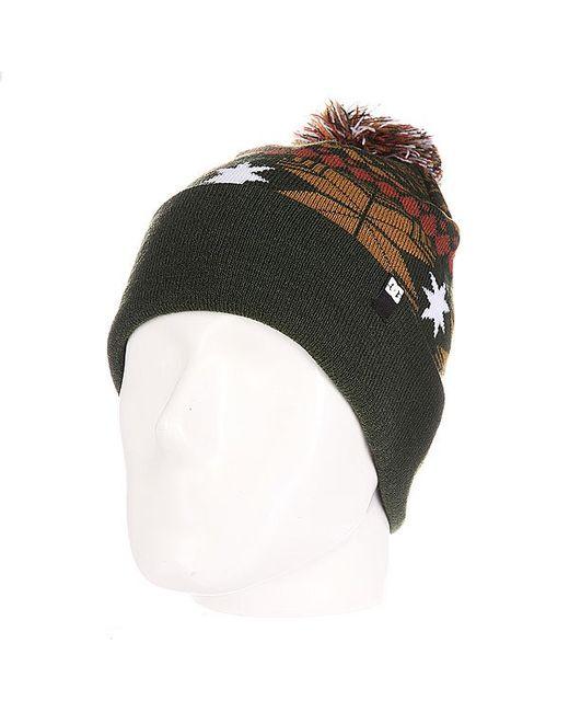 Dcshoes   Мужская Шапка С Помпоном Dc Pinecone Hats Kombu
