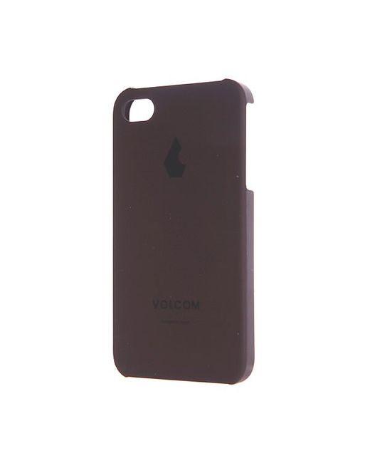 Volcom   Женский Коричневый Чехол Для Iphone Iphone4s Hard Case Burgundy
