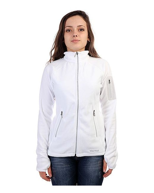 Marmot | Белая Толстовка Сноубордическая Женская Wms Flashpoint Jacket White