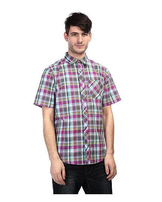 Marmot   Мужская Фиолетовая Рубашка В Клетку Homestead Slate Grey