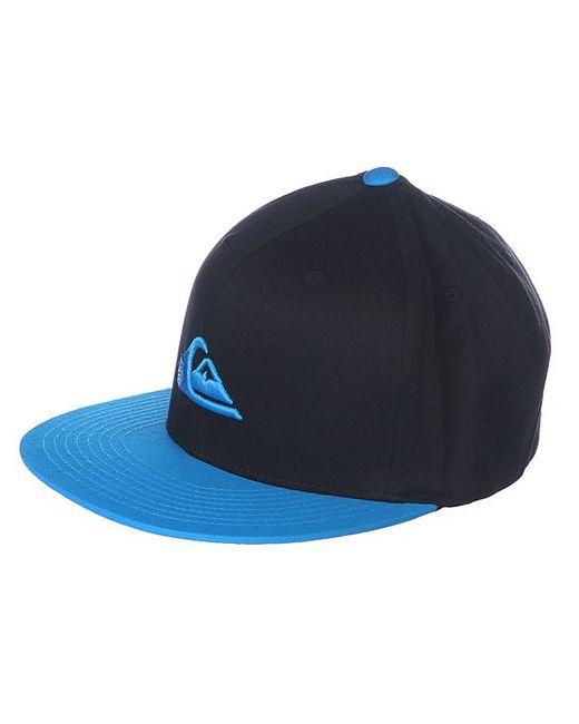 Quiksilver | Мужская Синяя Бейсболка Stuckles Hats Hawaiian Ocean