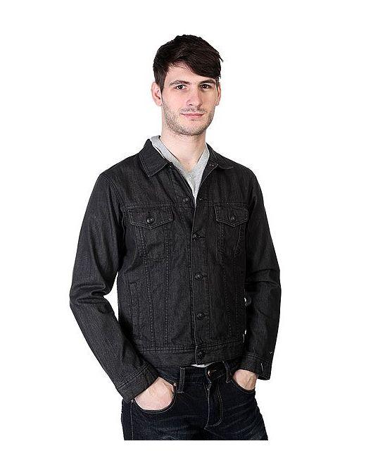 Quiksilver | Мужская Чёрная Куртка Джинсовая Dead Water Black Anthracite