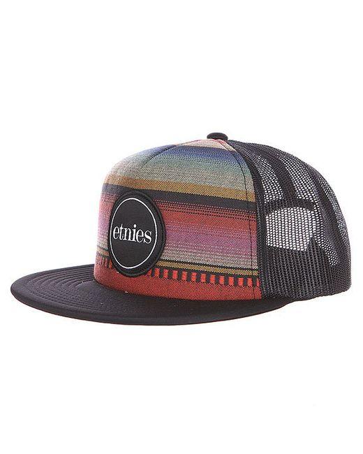 Etnies | Мужская Бейсболка Bonsai Trucker Hat Black