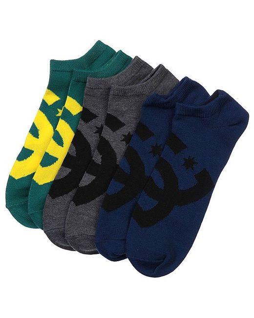 Dcshoes | Мужские Жёлтые Носки Низкие Dc 3pk Essential Sport Ns