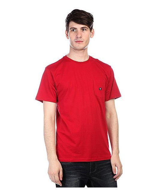 Dcshoes | Мужская Синяя Футболка Dc Basic Pocket T Jester Red