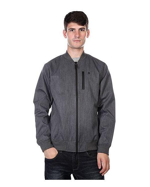 Nixon   Мужская Куртка Team Jacket Black Heather