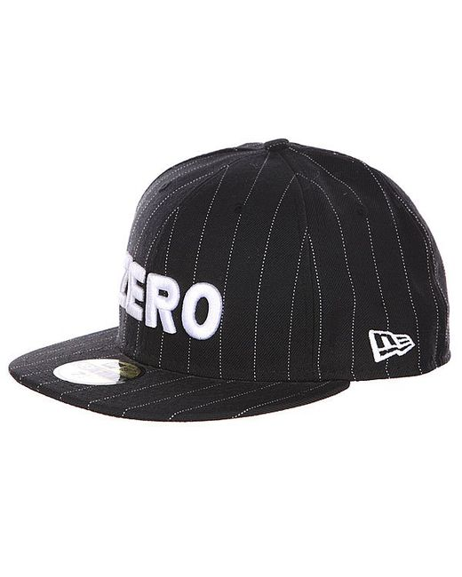 Zero | Мужская Чёрная Бейсболка New Era Army Pinstripe