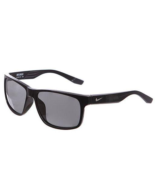Nike   Мужские Чёрные Очки Cruiser Grey Lens Black