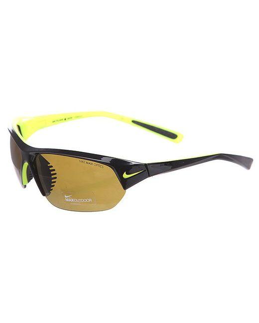Nike | Мужские Жёлтые Очки Skylon Ace Outdoor Lens Matte Black/Voltage