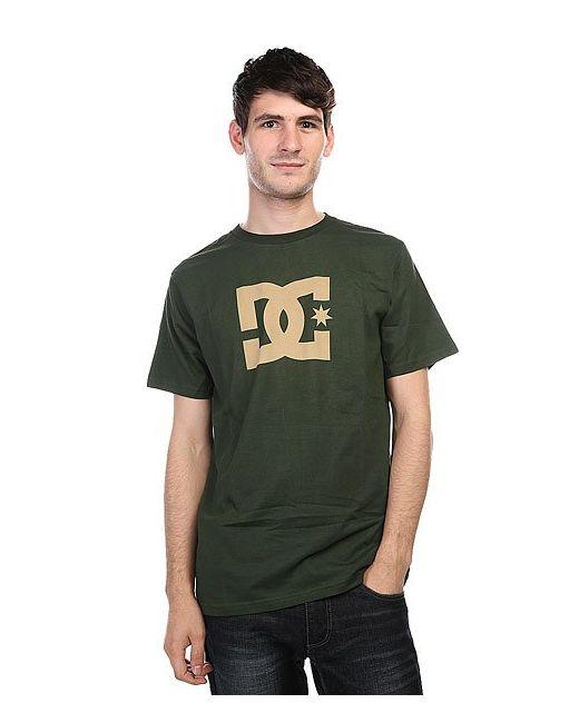 Dcshoes   Мужская Зелёная Футболка Dc Star Duffel Bag
