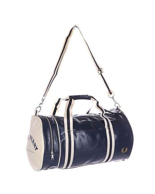 Fred Perry | Мужская Синяя Сумка Classic Barrel Bag 635