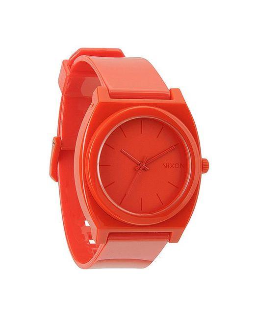 Nixon   Мужские Часы The Time Teller P Red All