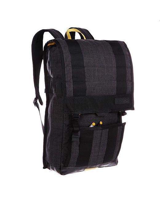 Ogio   Мужской Чёрный Рюкзак Городской Commuter Pack Black/Curry