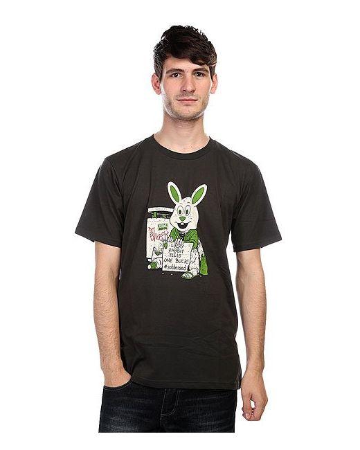 Dcshoes | Мужская Чёрная Футболка Dc Cliver Bunny Pirate Black
