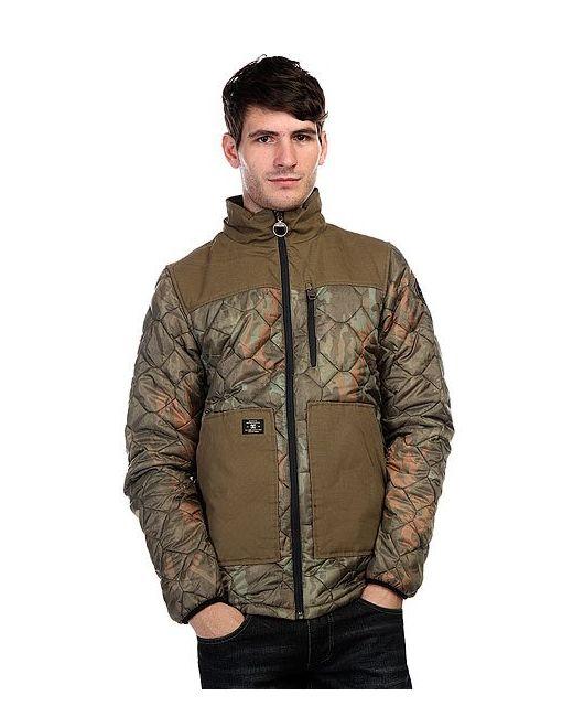 Dcshoes | Мужская Зелёная Куртка Dc Convoy Camo Lodge