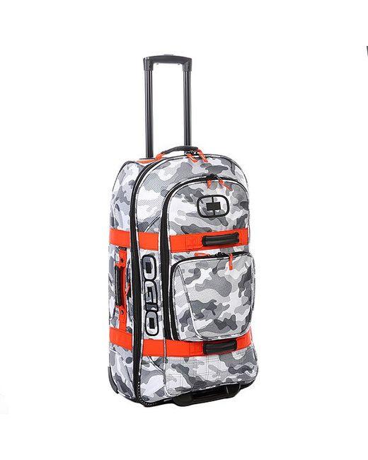 Ogio | Мужская Оранжевая Сумка Дорожная Terminal 95 L Snow Camo/Orange