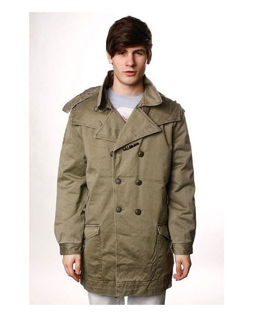 Insight | Мужское Зелёное Пальто Apocalypse Acdc Green