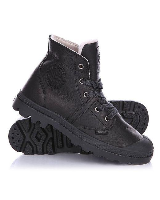Palladium | Женские Чёрные Ботинки Зимние Женские Pallabrouse Wps Black