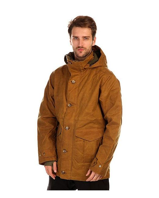 Burton | Мужская Коричневая Куртка Filson X Sentry Jkt Tin Oil