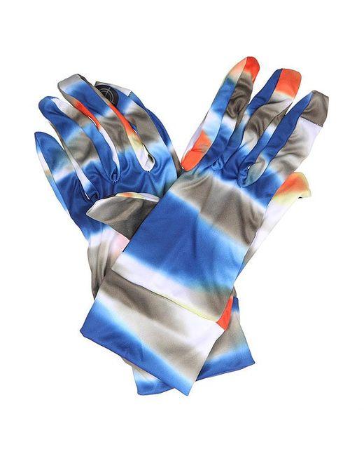 Burton   Мужские Синие Перчатки Touchscreen Liner Mirage Blue/Grey